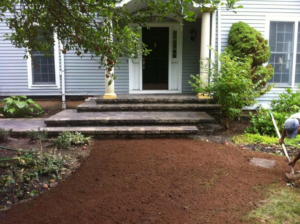 Masonry portfolio affordable landscaping tree service for Affordable garden services