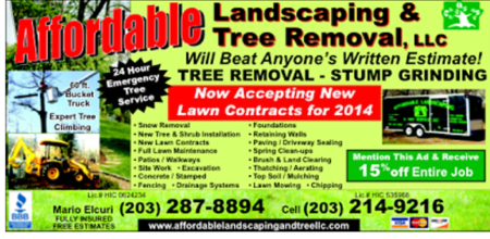 About us affordable landscaping tree service llc for Affordable garden services